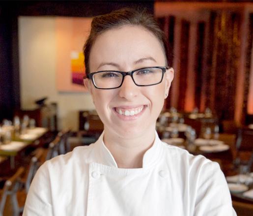 Pastry Chef Kristin Menton