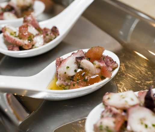 Braised Octopus Salad with Capers and Preserved Lemon