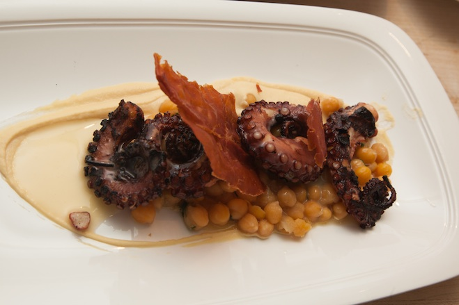 Octopus Saltimbocca