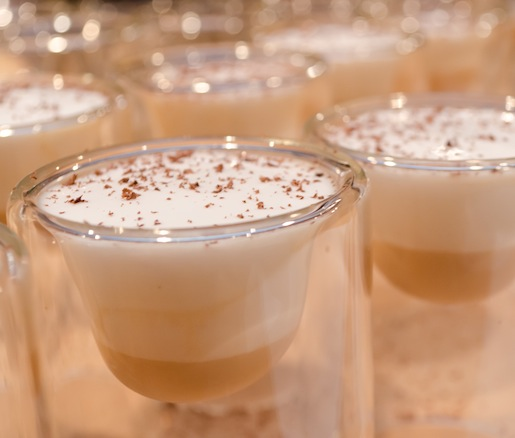 Pecan-Infused Orgeat with Baileys Irish Cream and Almond Foam