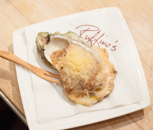 Char-Broiled Oysters with Tasso Ham–Garlic Butter