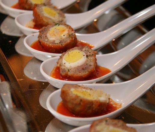 Quail Egg–Stuffed Quail Polpettine