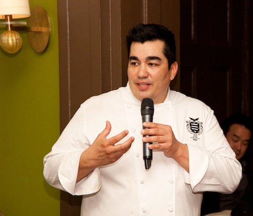 Chef Jose Garces at the Beard House