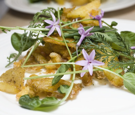 Potatoes with Buttermilk and Cress