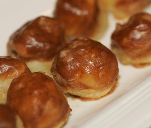 Foie Gras–Filled Pretzel Bites