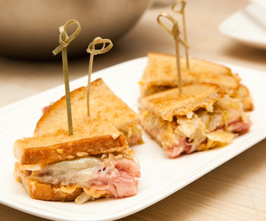 Mini-Reuben Sandwiches