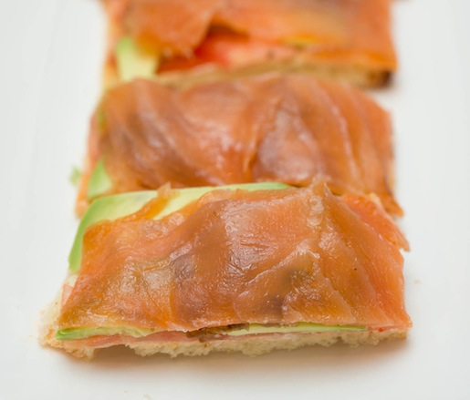Housesmoked Salmon Sandwiches