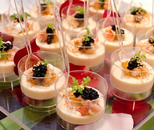 Sea Urchin Custard with Lobster and Caviar