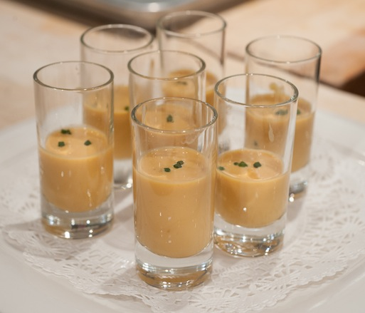 Uni and Leche de Tigre Shooters