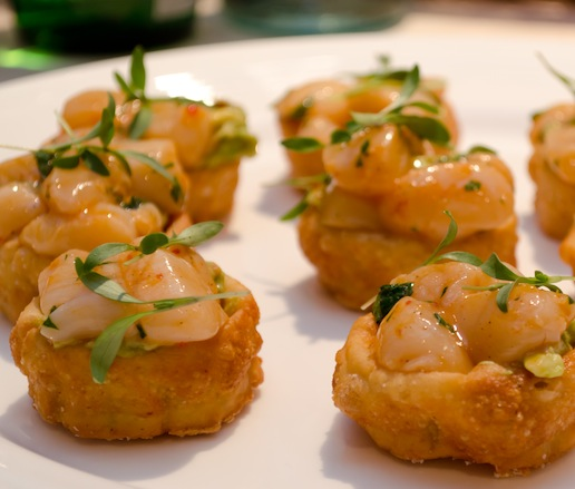 Nantucket Bay Scallop Sopes