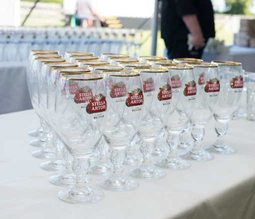 Stella Artois signature chalices