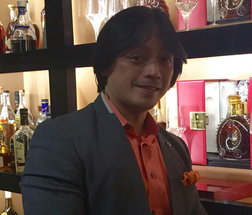Beverage Director Richard Tandoc