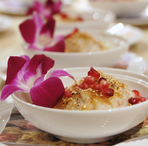 Jasmine Flower–Scented Tapioca Pudding