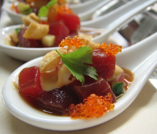 Maguro Tartare with Osaki's Soy Sauce