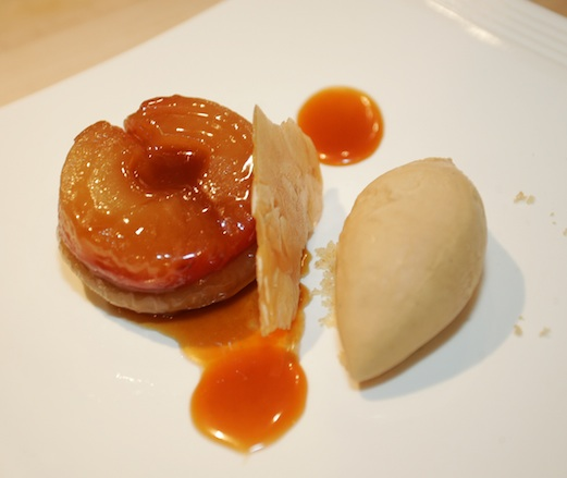 Apple Tarte Tatin with Salted Caramel Ice Cream