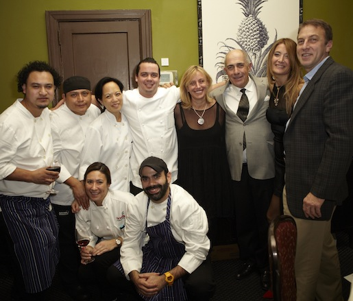 Alison Price Becker, Juan Carlos Landazuri, and their team at the Beard House