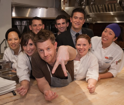 Richard Blais, Justin Amick, and their team at the Beard House