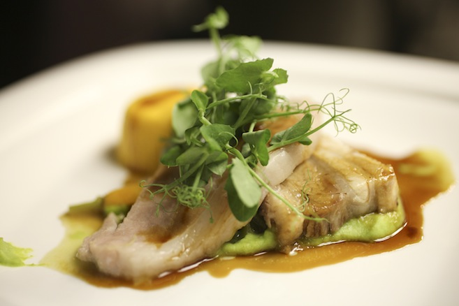 Heritage Pork with Peas and Carrots