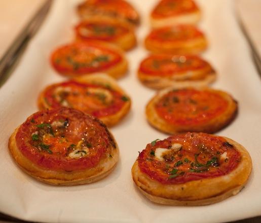 Miniature Tomato Tarts