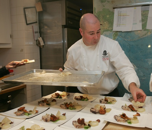 Timothy Toohey at the James Beard House