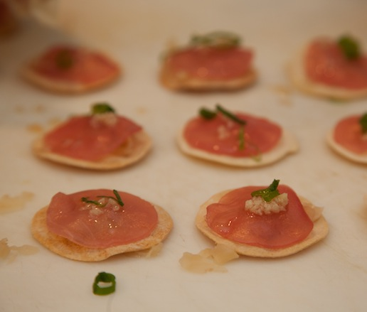 Miniature Tuna Tarts