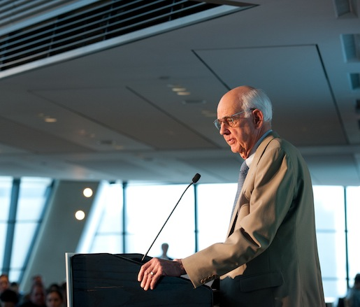 "JBF Leadership Award winner Wendell Berry gives his presentation: ""A Fifty-Year Farm Bill"""