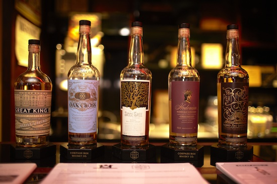 A selection from Compass Box Whisky Co.