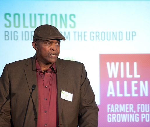 2011 JBF Leadership Award winner and Growing Power founder Will Allen