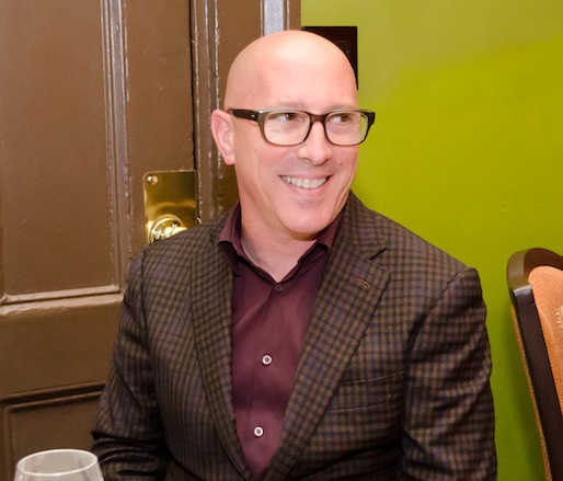 Winemaker Maynard James Keenan at the Beard House
