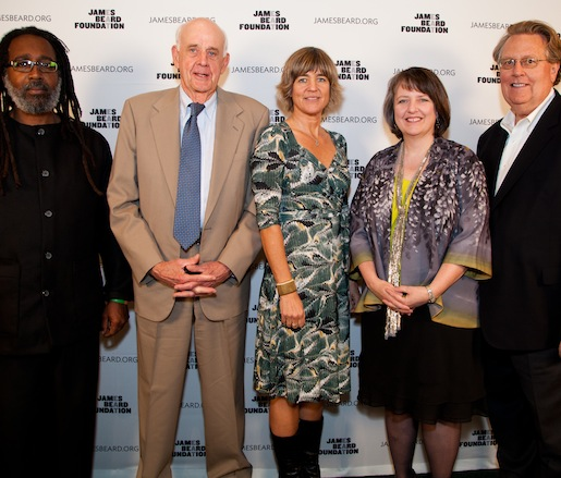 The 2012 JBF Leadership Award honorees