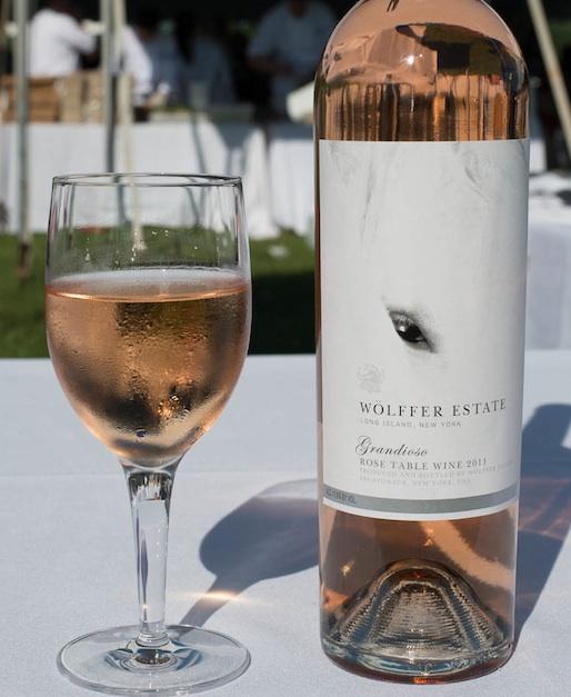 Wölffer Estate Vineyard Grandioso Rosé