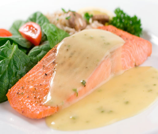Beurre Blanc Sauce poached salmon with beurre blanc recipe | james beard foundation