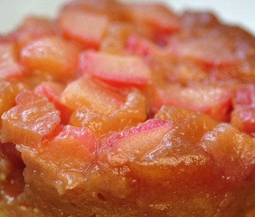 Rhubarb Upside Down Cake Recipe James Beard Foundation