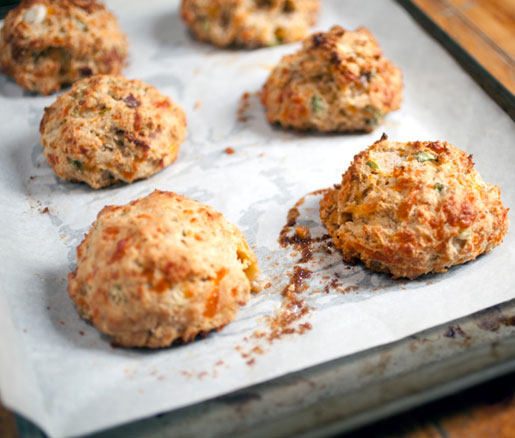Old Chatham's Cheddar and Scallion Biscuits Recipe | James Beard ...