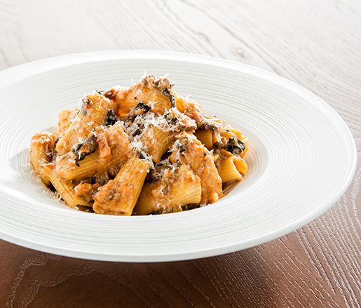 Rigatoni with vegetable bolognese recipe james beard foundation 0 forumfinder Gallery
