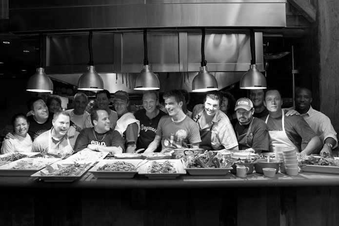 Chefs at the James Beard Foundation's Chefs Boot Camp for Policy and Change
