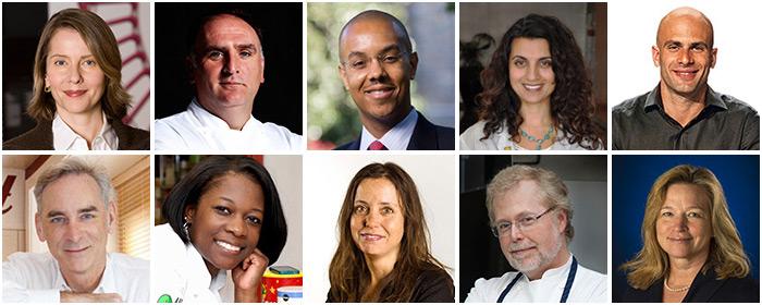 2015 James Beard Foundation Food Conference participants
