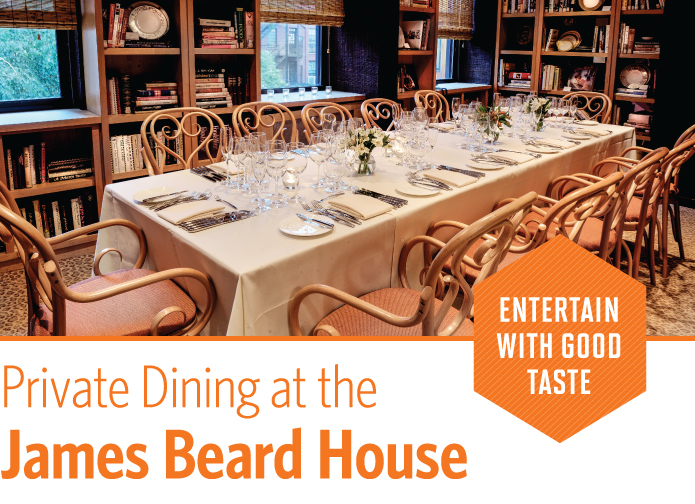 Private Dining at the James Beard House