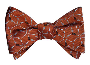 The James Beard Foundation bowtie, courtesy of BowTie Cause