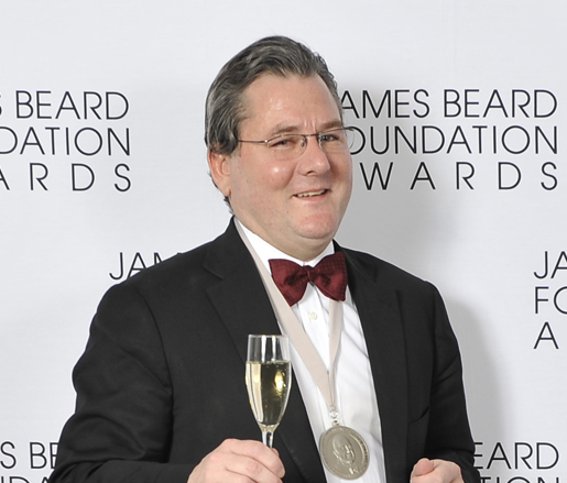 Charlie Trotter at the 2012 James Beard Foundation Awards