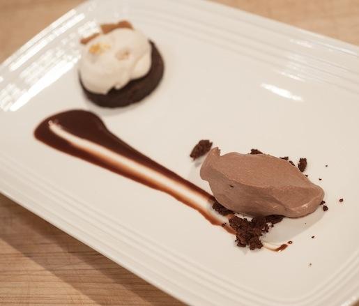 ... Chocolate Torte, Semisweet Chocolate Mousse, Orange Whipped Cream, and