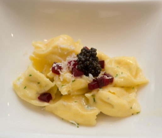 Horseradish and Crème Fraîche–Filled Fagotelli Pasta with Ash ...