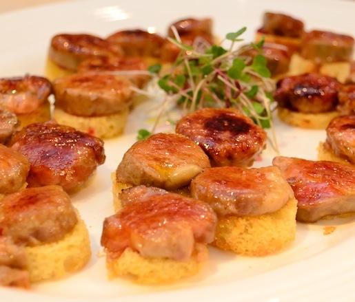 Foie Gras Torchon Brûlée