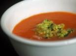 tomato soup at Beard House
