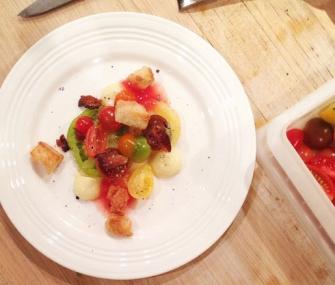 """Tomato Sandwich"" at the James Beard House"