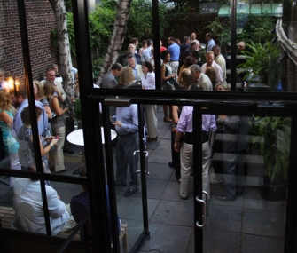 A Reception at the James Beard House