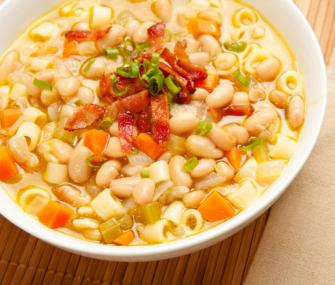 ... pasta alla norma pasta and beans made with minestrone pasta beans soup