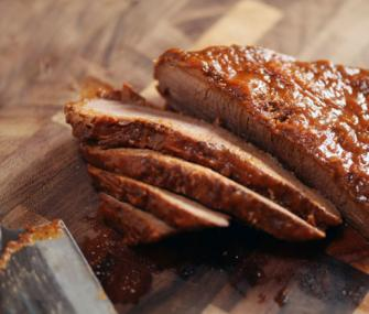 Spicy BBQ-Flavored Brisket | James Beard Foundation