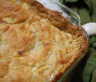 Old-Fashioned Rich Chicken Pie | James Beard Foundation