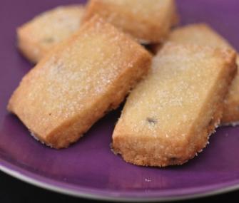 Lavender Shortbread Cookies | James Beard Foundation